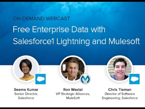 Webcast: Salesforce1 Lightning Connect with Mulesoft