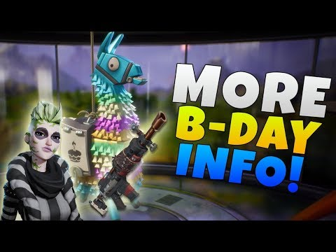 Fortnite Birthday Event Info | Fortnite Update 5.1 "|480|360|?|9c12c6c5938d7e2a7805b0c494583033|False|UNLIKELY|0.36173829436302185