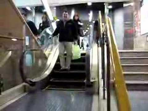 Worlds Shortest Escalator