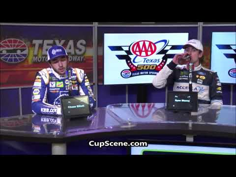NASCAR at Texas Motor Speedway, Nov. 2018: Blaney, Elliott post race