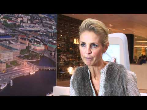 Ulrika Jonsson pops up to support Swedish Design at Westfield