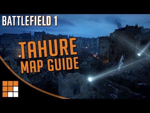 Battlefield 1 Prise de Tahure Map Overview (видео)