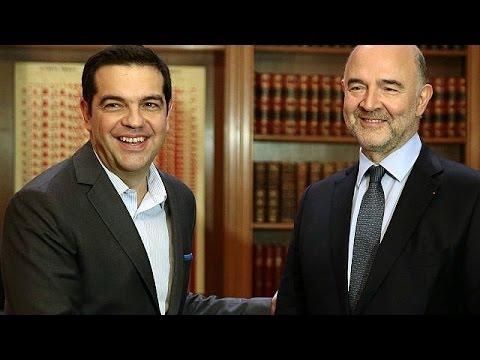Αισιόδοξος για επίτευξη συμφωνίας Ελλάδας – δανειστών ο Πιερ Μοσκοβισί