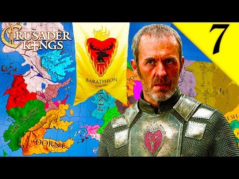 STANNIS SAILS TO VALYRIA! CRUSADER KINGS 2: GAME OF THRONES: HOUSE STANNIS BARATHEON EP. 7