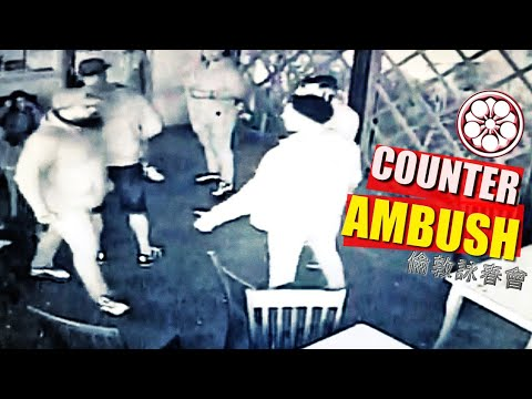BAD GUYS GET OWNED!...  BEST COUNTER AMBUSH in SELF DEFENCE