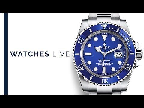 Submariner: Rolex Blues & Sports Watches: Omega Seamaster, Seiko, Jaeger LeCoultre & Audemars Piguet_A valaha feltöltött legjobb karóra videók