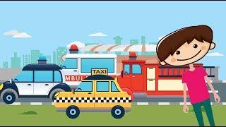 Μαθαίνω τα Οχήματα και τα Μεταφορικά Μέσα Eκπαιδευτικό υλικό ,για νήπια και παιδιά προσχολικής ηλικίας....