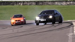 Porsche Gt3 Rs 4.0 V Bmw M3 Gts V Mercedes C63 Amg Black Series. On Street And Circuit.