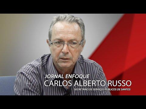 Entrevista com o Secretário de Serviços Públicos Carlos Alberto Russo