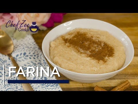 Dominican Style Farina | Hot Porridge Recipe | Cream Of Wheat | Chef Zee Cooks