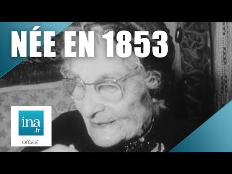 1958 : Louise Blanc, née en 1853 sous Napoléon III | Archive INA