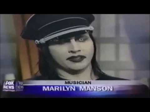 Marilyn Manson says why he doesn't talk about mass shooters
