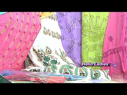 Lucknow Chikan Work Sarees and Dress Materials