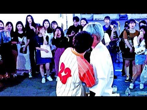 《BigBang_LastFarewell》20190516#LeoKang(#강레오)&#YooONE(#유원) 빅뱅#마지막인사 홍대버스킹 20190516_214427 #SnowHorse