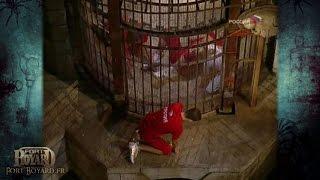 Fort Boyard 2006 (Russie) - Un candidat enfermé dans la salle du trésor