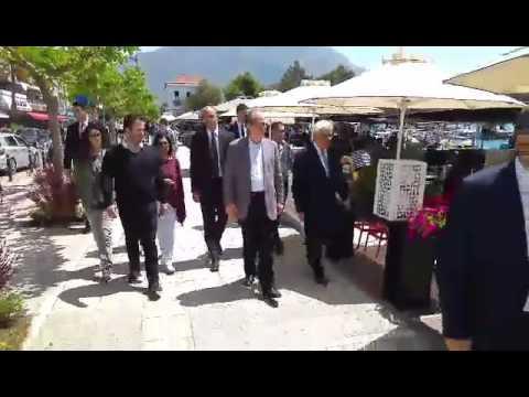 Video - Παυλόπουλος - Σαμαράς: Μια πασχαλινή συνάντηση