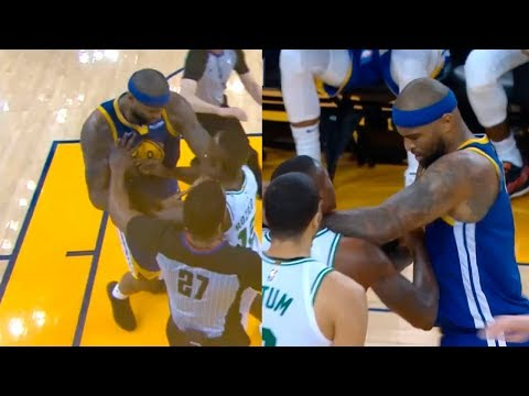 DeMarcus Cousins wanna fight with entire Celtics players & gets technical foul | Celtics vs Warriors - Thời lượng: 106 giây.