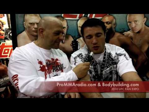 Chael Sonnen Talks Anderson Silva Confrontation at Fan Expo