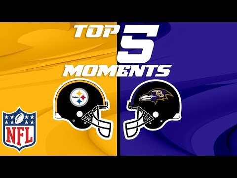 Video: Steelers vs. Ravens: Top 5 Moments from the AFC North Rivalry | NFL Highlights