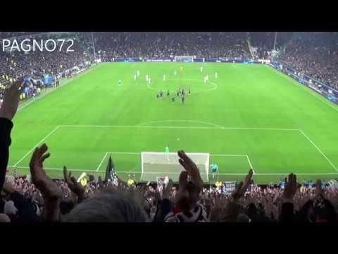 JUVENTUS Vs Manchester United    Curva Sud
