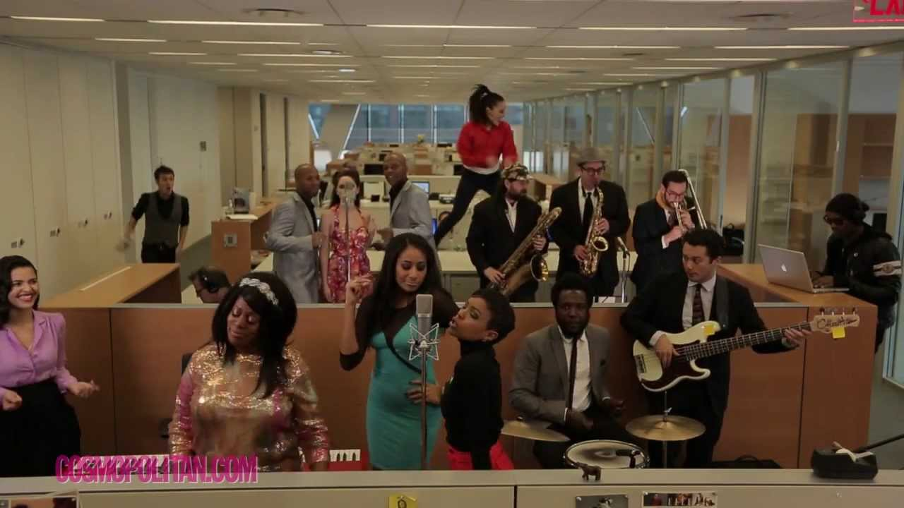 Postmodern Jukebox One Take 2013 Mashup: Just Another Day at the Office