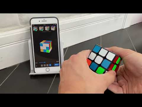 How to cheat solving a Rubiks cube
