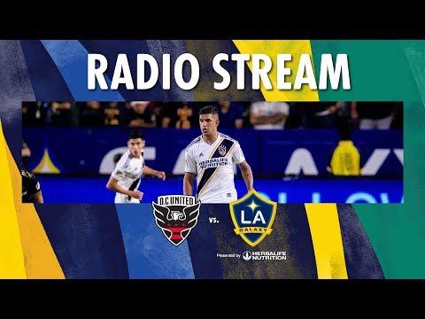 Video: LA Galaxy at DC United | Radio Live Stream