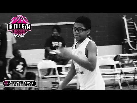 7th Grader Javon Tracy | One of Indiana's Finest at INTHEGYMHOOPS SHOWCASE
