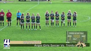 Argos Girls Soccer vs. Trinity Lutheran