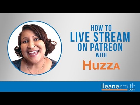 Watch 'Live Stream to Facebook, Your Website and Patreon at Once with Huzza.io'