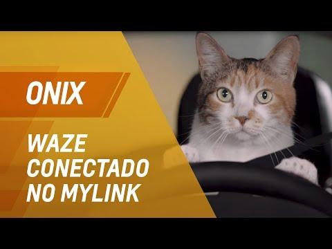 Chevrolet Onix 2018  Waze conectado no MyLink