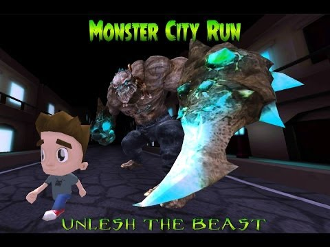 Video of Monster City Run : Best Runner