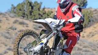 7. Husqvarna FE450  uses a chromoly frame  rear suspension linkage on all of their machines