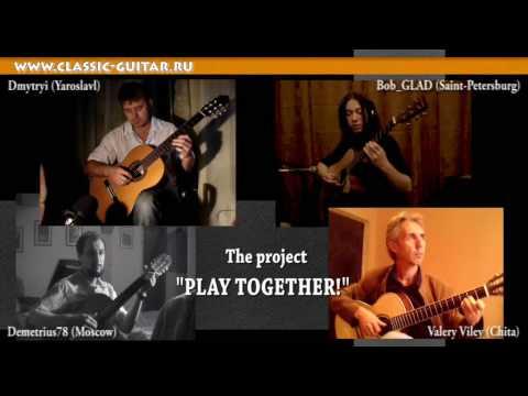"""il brano """"crystal ann"""" suonato da 4 musicisti in diverse parti del mondo"""