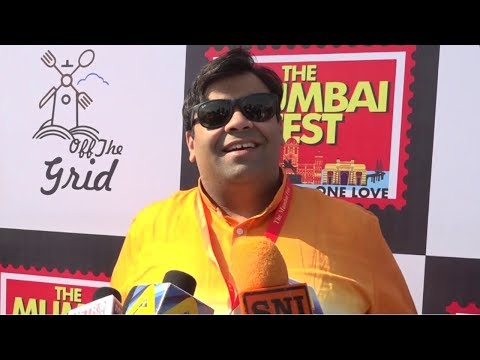 Kiku Sharda Celebrating The Mumbai Fest 2018
