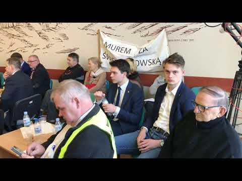 Wideo1: Fragment dyskusji o ul. Święciechowskiej na sesji RML