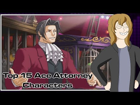 Top 15 Ace Attorney Characters
