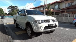 2009 Mitsubishi Triton DI-D Start-Up, Full Vehicle Tour And Quick Drive
