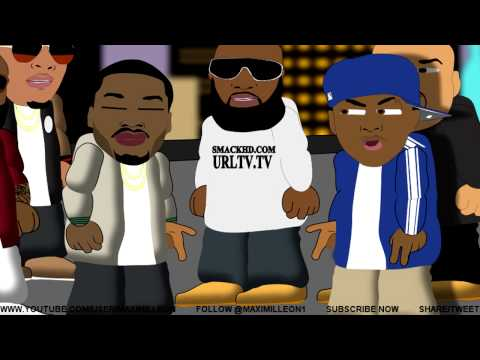 BARS CARTOON #2 &#8211; The Rooftop Battle (Cass vs Meek)