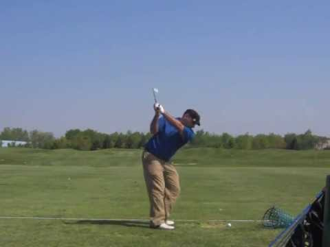 My latest swing - 8iron @ 120 fps