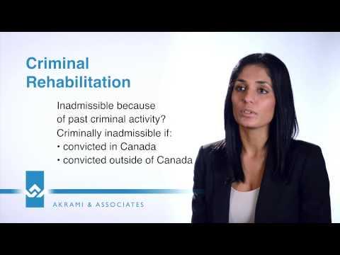 Criminal Rehabilitation Video