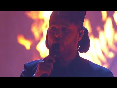 The Weeknd - The Hills (American Music Awards 2015)
