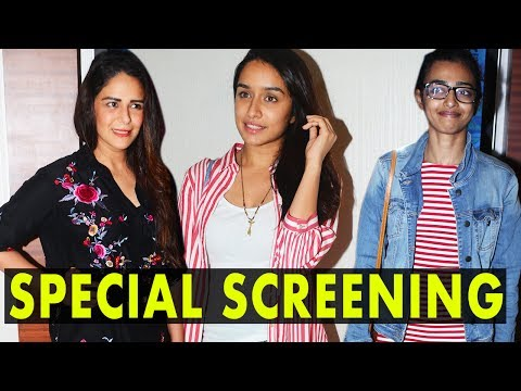 Shraddha Kapoor, Radhika Apte And Others At Lipsti