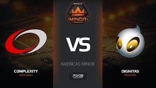 compLexity vs Dignitas, map 2 mirage, Americas Minor – FACEIT Major 2018