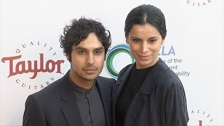 Subscribe! http://bit.ly/mrSda2 BROLL: The Big Bang Theory actor and beauty queen Neha Kapur arrive on the red carpet at the UCLA Institute of the ...