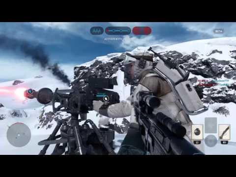 Star Wars Battlefront - первый заход в бету