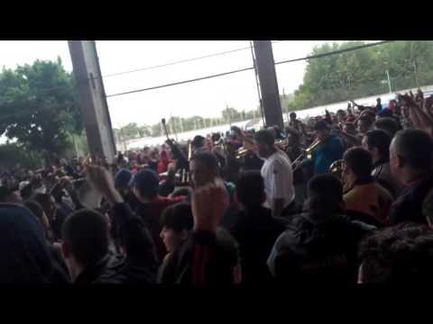 Previa de la hinchada de San Lorenzo vs Rosario Central. 2016.Canciones a Huracan. - La Gloriosa Butteler - San Lorenzo - Argentina - América del Sur