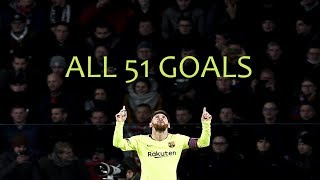 Video Lionel Messi ● All 51 Goals in 2018 ● With Commentaries MP3, 3GP, MP4, WEBM, AVI, FLV Juli 2019