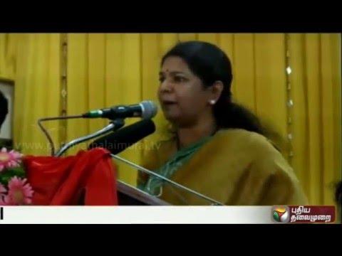 Kanimozhi-criticises-Jayalalithaas-promise-on-alcohol-ban