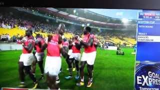 Rugby Sevens Kenya Beat Scotland